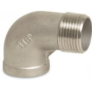 1/4 inch Stainless Steel 316 90 Degree Elbow Male x Female Threaded