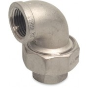 3 inch Stainless Steel 316 Union Elbow Female x Female Threaded