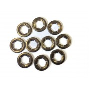 Genuine Starlock Washer For Metric Round Shaft 10mm Pack Of 25